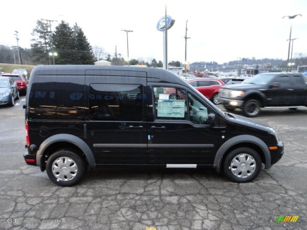 Panther black metallic 2012 ford transit connect xlt wagon exterior photo 61088759 gtcarlot com