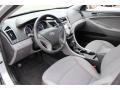 Gray 2011 Hyundai Sonata Interiors