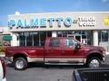 2008 Dark Toreador Red Metallic Ford F450 Super Duty Lariat Crew Cab 4x4 Dually #61074776