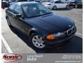 Jet Black 2000 BMW 3 Series 323i Sedan