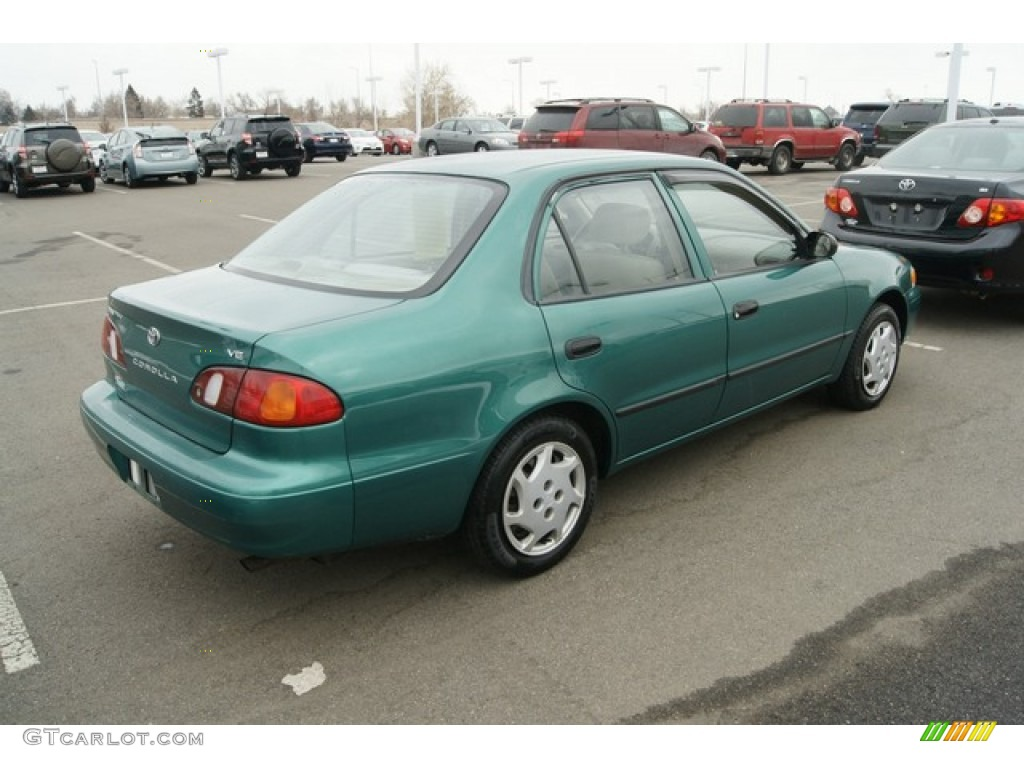 1998 green pearl metallic toyota corolla ve 61074472 photo 2 car color galleries. Black Bedroom Furniture Sets. Home Design Ideas