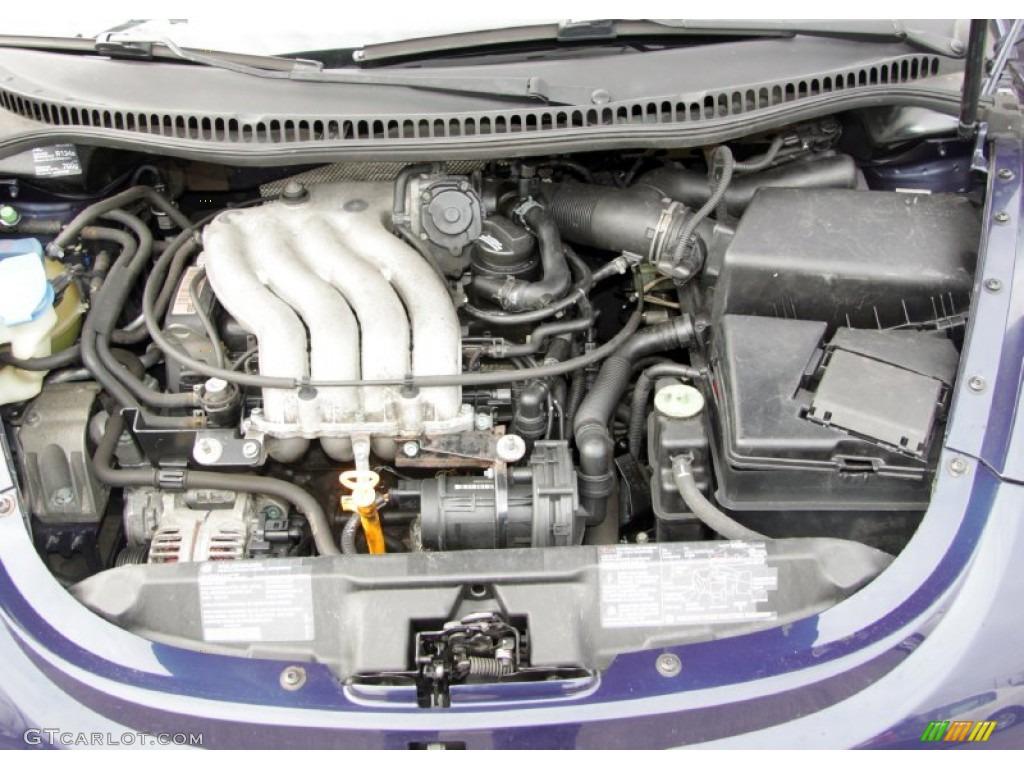 1999 Volkswagen New Beetle GL Coupe 2.0 Liter SOHC 8-Valve ...
