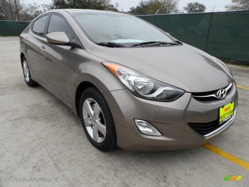 2012 Desert Bronze Hyundai Elantra Gls 61074735 Gtcarlot Com Car Color Galleries