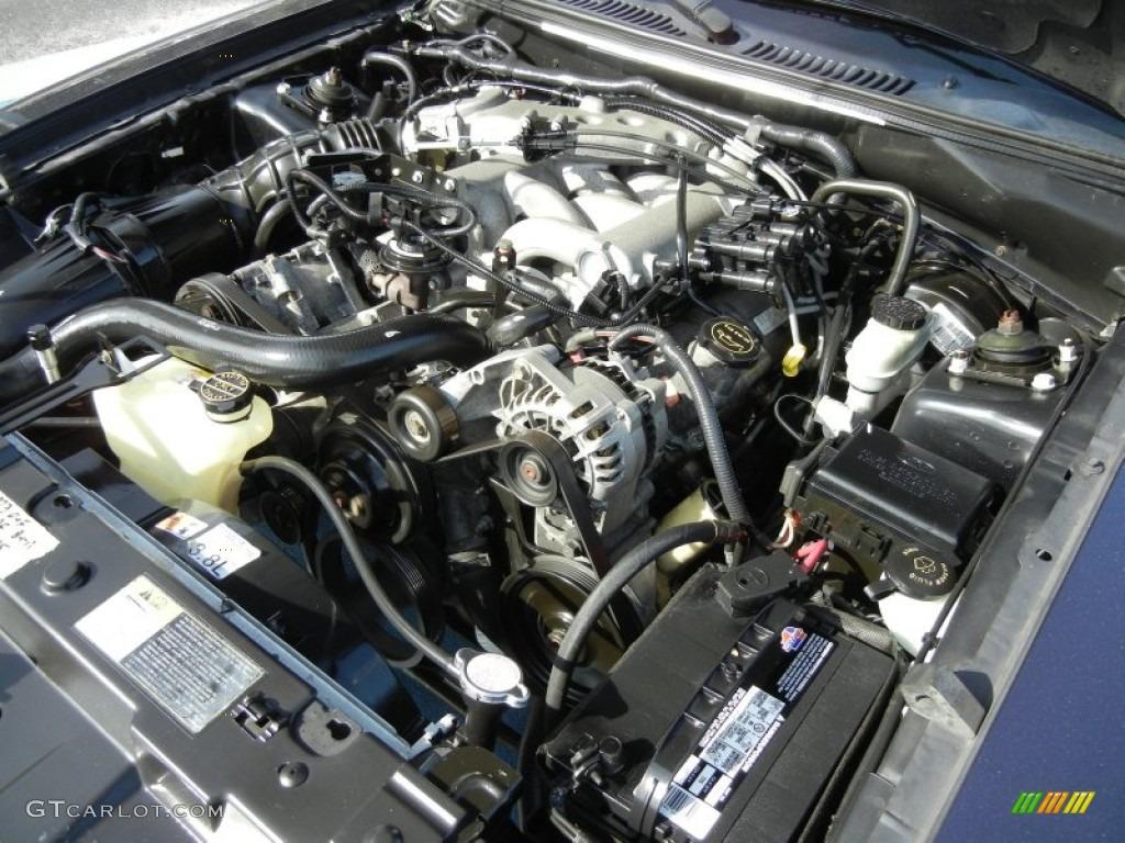 2003 ford mustang v6 coupe 3 8 liter ohv 12 valve v6. Black Bedroom Furniture Sets. Home Design Ideas