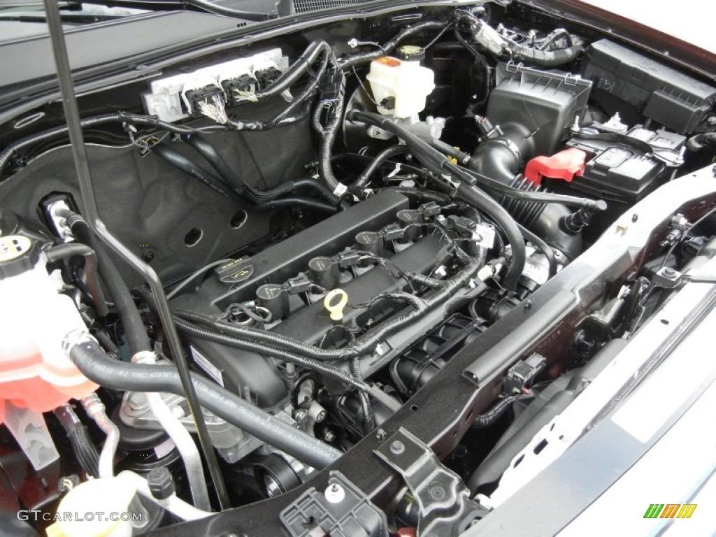 2012 ford escape xlt 2 5 liter dohc 16 valve duratec 4 cylinder engine photo 61120787. Black Bedroom Furniture Sets. Home Design Ideas