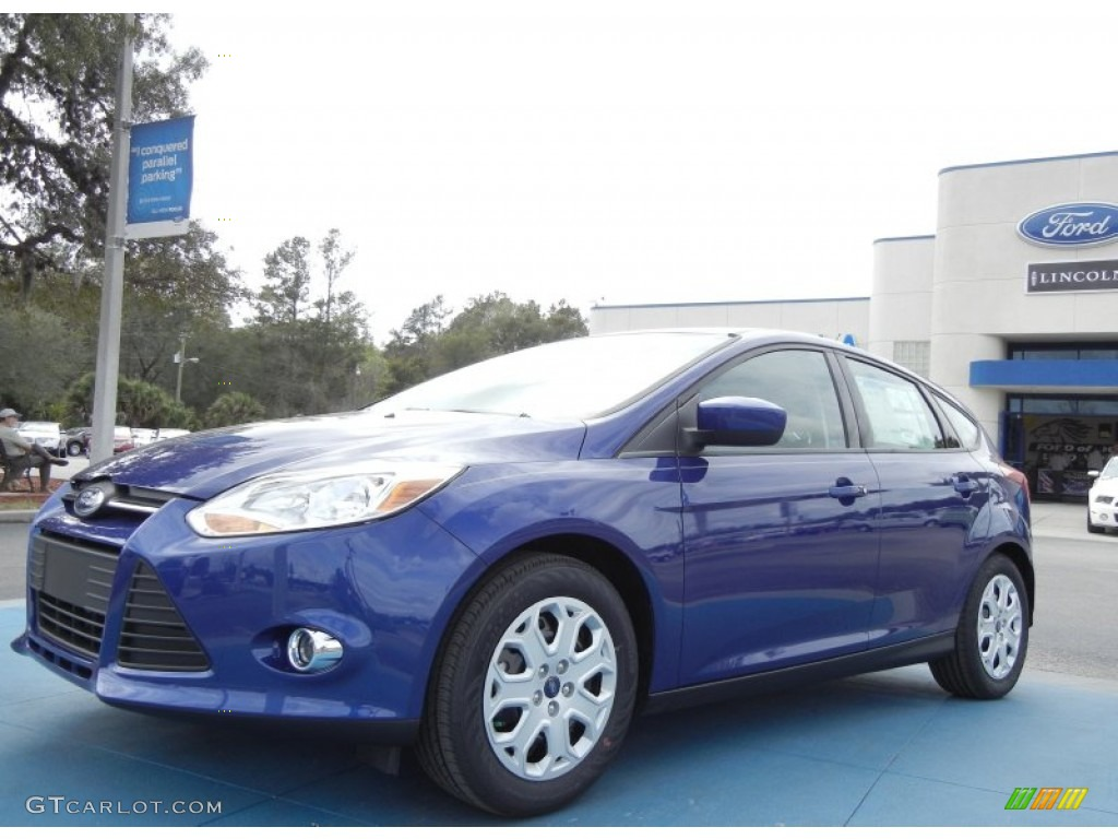 Ford sonic blue pearl paint code
