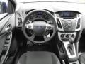 2012 Sonic Blue Metallic Ford Focus SE 5-Door  photo #7