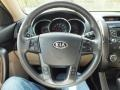Beige Steering Wheel Photo for 2011 Kia Sorento #61121822