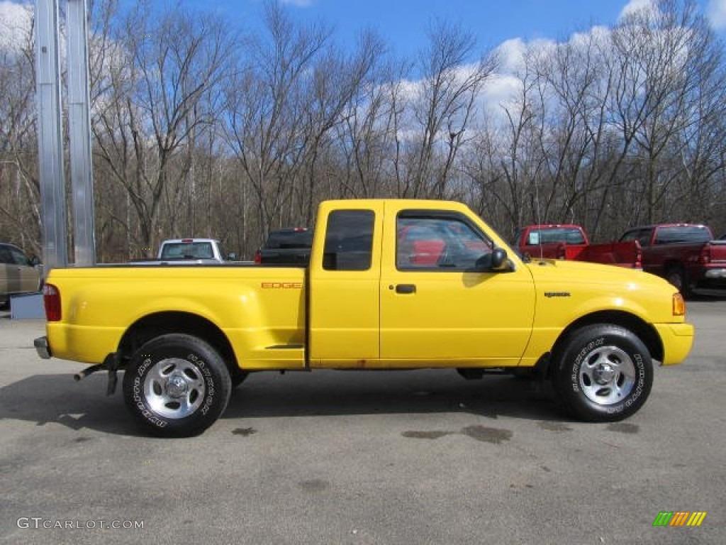 Ford Edge Gold Color >> 2001 Chrome Yellow Ford Ranger Edge SuperCab 4x4 #61112679 Photo #4 | GTCarLot.com - Car Color ...