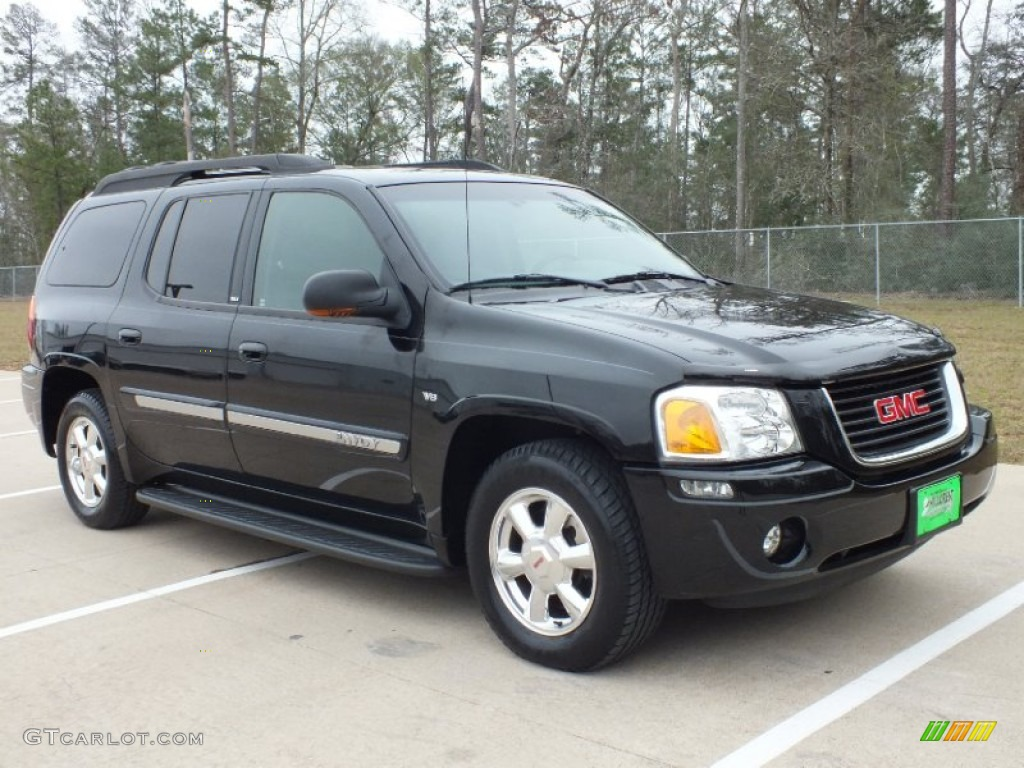 2003 onyx black gmc envoy xl slt 61113778. Black Bedroom Furniture Sets. Home Design Ideas