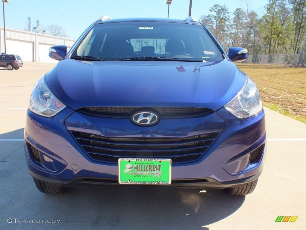 2012 Iris Blue Hyundai Tucson Gls 61113743 Photo 10