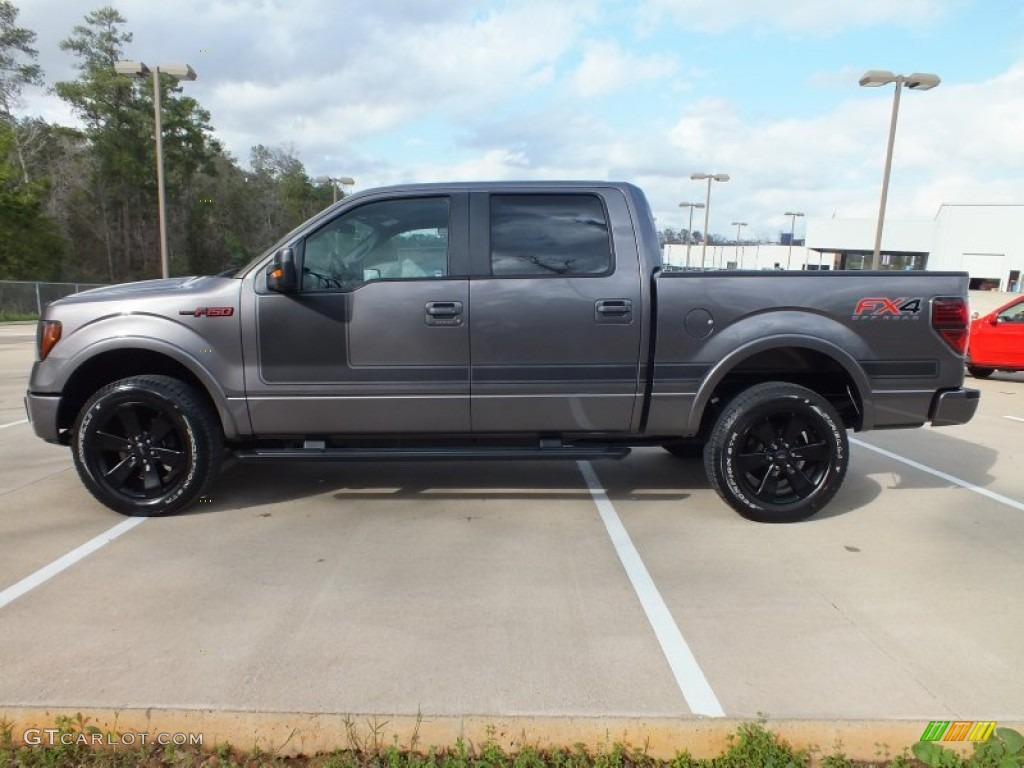 Sterling Gray Metallic 2012 Ford F150 FX4 SuperCrew 4x4 Exterior Photo ...