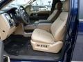 Front Seat of 2012 F150 Lariat SuperCrew 4x4
