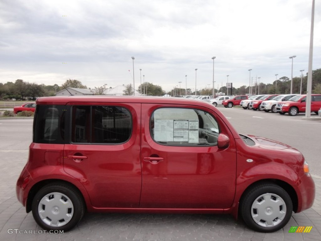 Cayenne Red 2012 Nissan Cube 1.8 S Exterior Photo #61139855 | GTCarLot ...