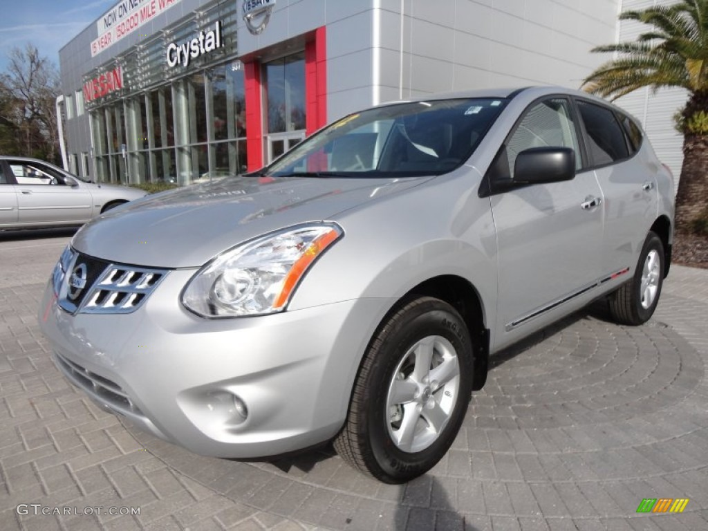 2012 Brilliant Silver Nissan Rogue S Special Edition