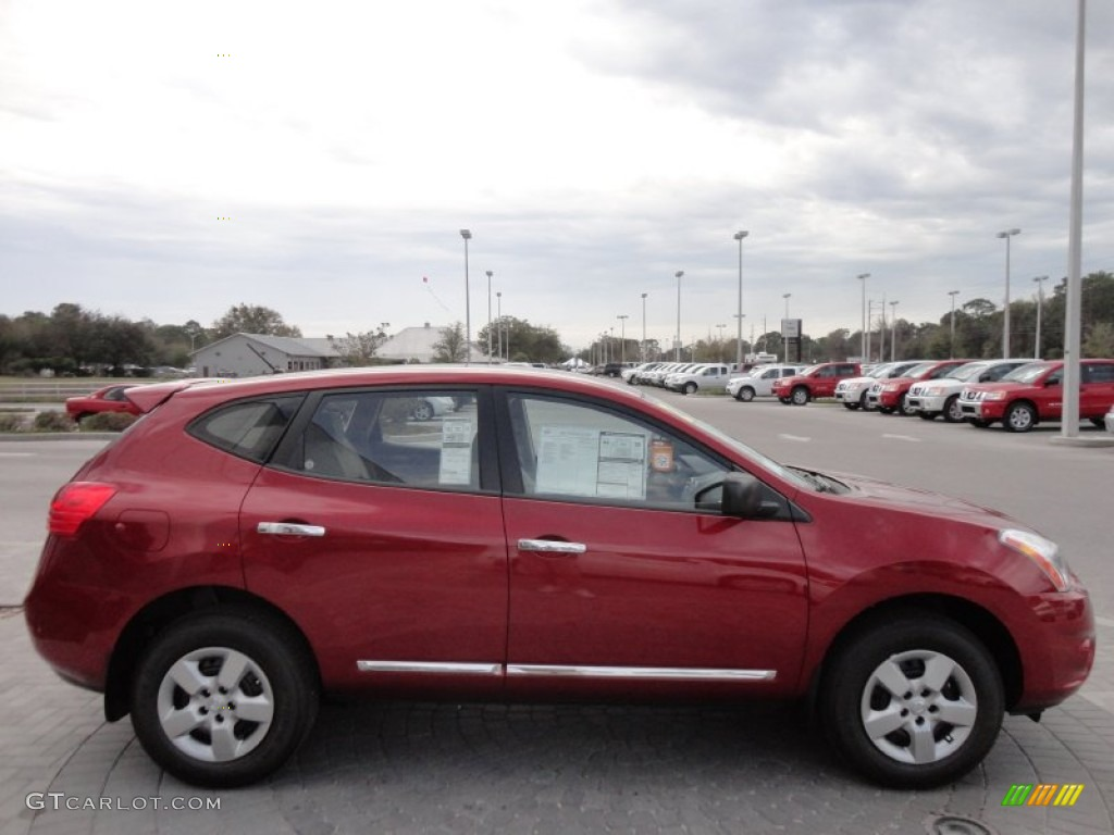 Cayenne Red 2012 Nissan Rogue S Exterior Photo 61140881