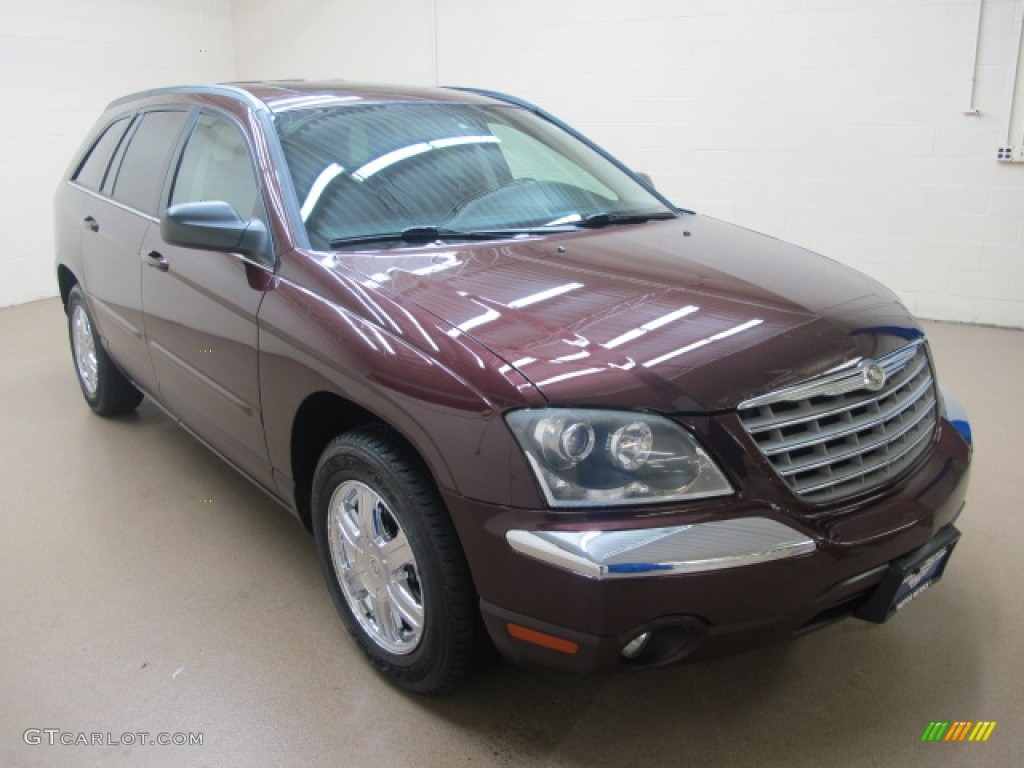 2004 deep molten red pearl chrysler pacifica awd 61112528 car color galleries. Black Bedroom Furniture Sets. Home Design Ideas
