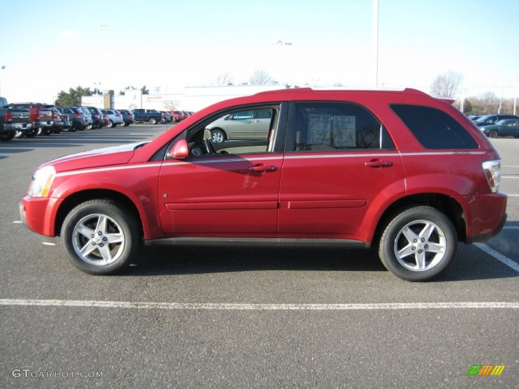 Salsa Red Metallic 2006 Chevrolet Equinox LT AWD Exterior Photo
