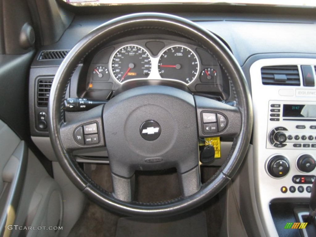 2006 Chevrolet Equinox LT AWD Light Gray Steering Wheel Photo