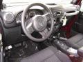 2012 Deep Cherry Red Crystal Pearl Jeep Wrangler Sport 4x4  photo #4