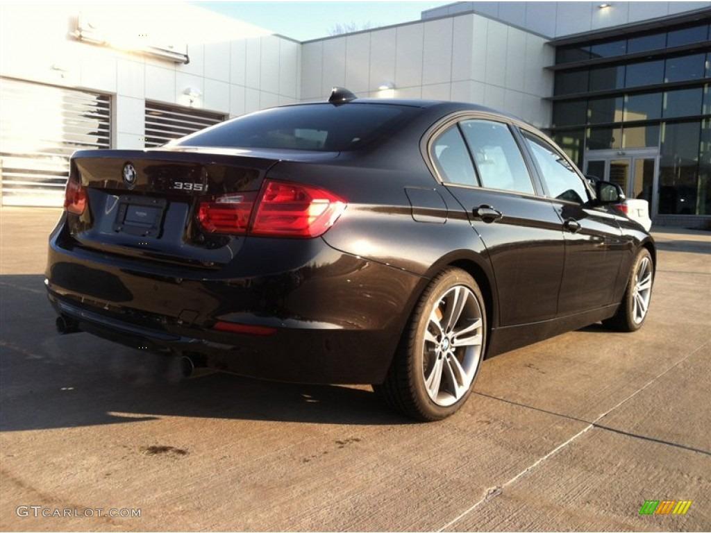 Black Sapphire Metallic BMW Series I Sedan Exterior - 2012 bmw 335i sedan