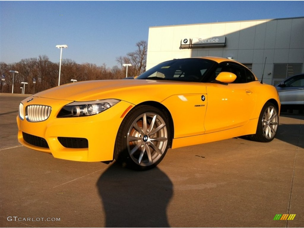 2012 Atacama Yellow Bmw Z4 Sdrive35i 61113090 Gtcarlot