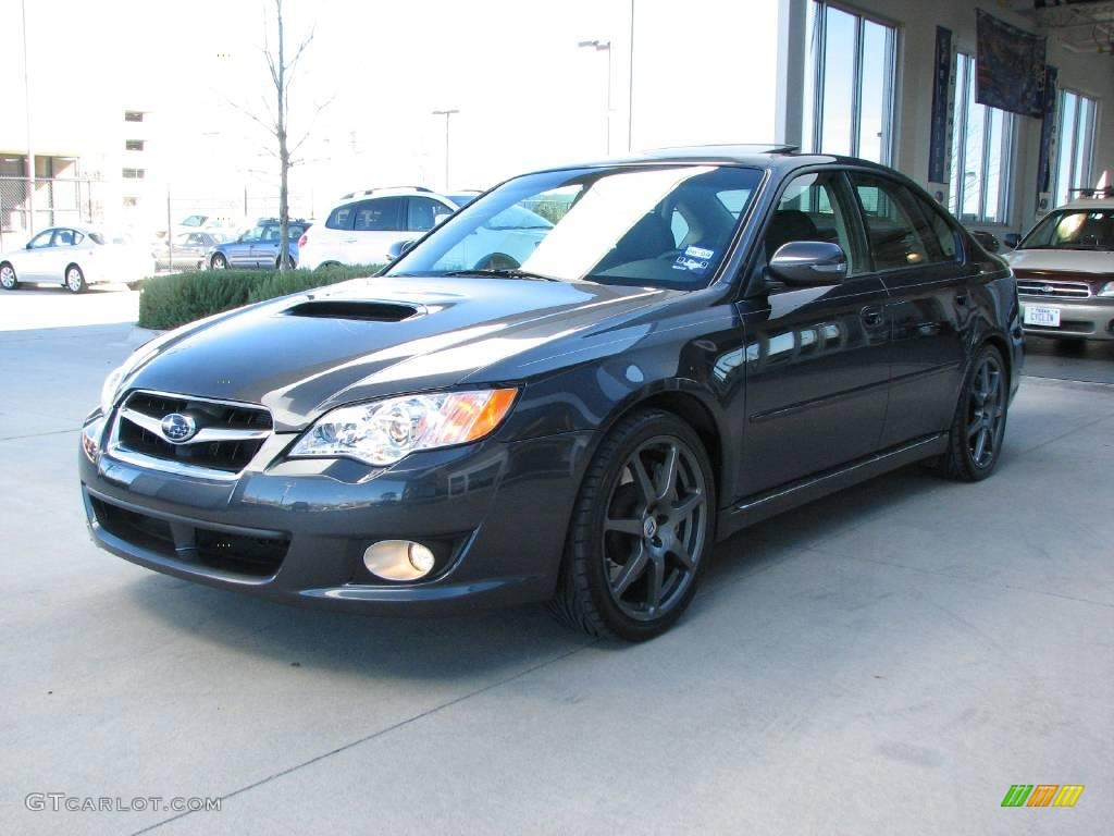 diamond gray metallic 2008 subaru legacy 2 5 gt spec b sedan exterior photo 6114964. Black Bedroom Furniture Sets. Home Design Ideas
