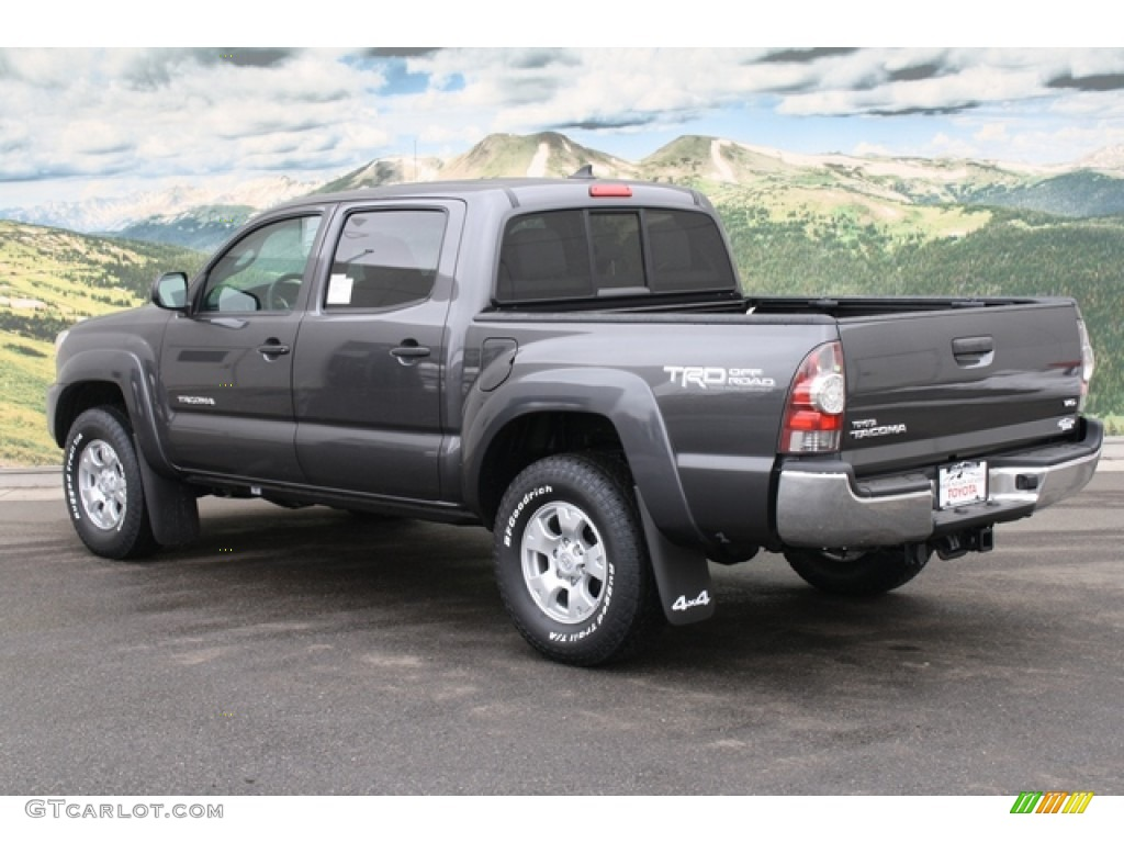magnetic gray mica 2012 toyota tacoma v6 trd double cab 4x4 exterior photo 61155338. Black Bedroom Furniture Sets. Home Design Ideas