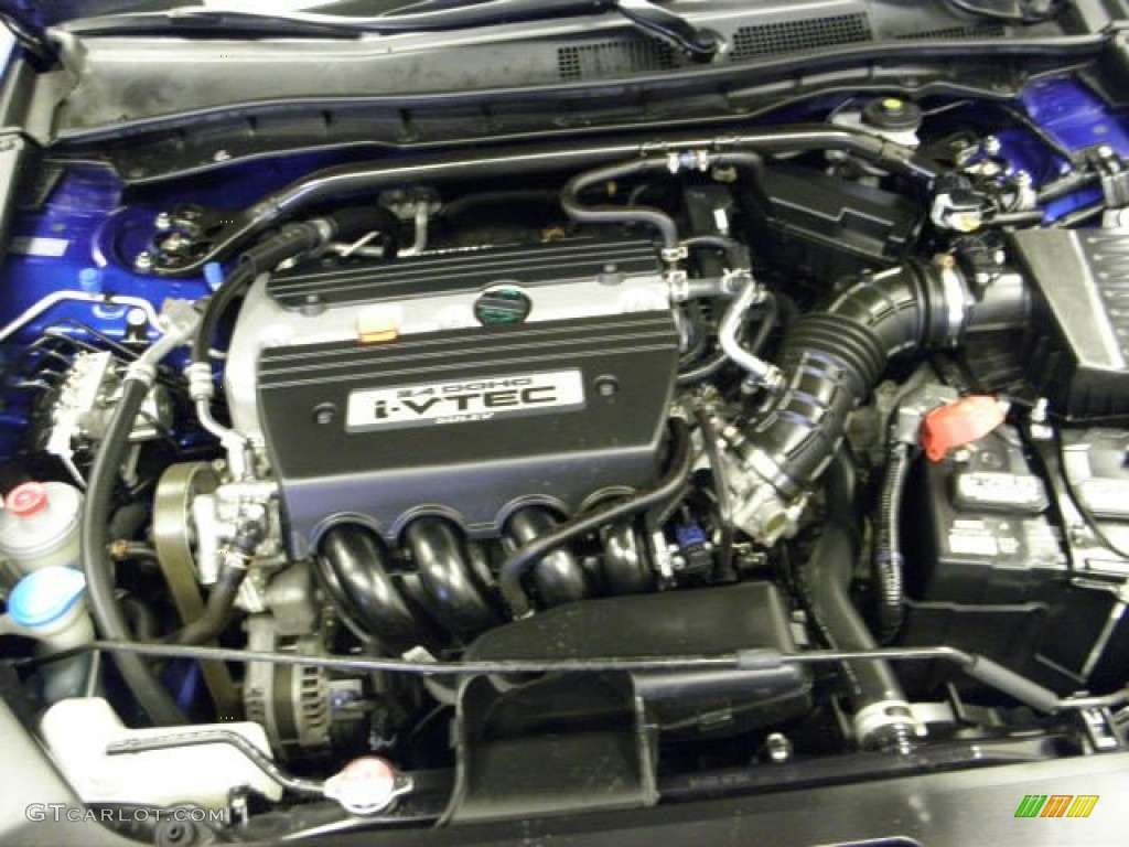 2008 Honda Accord Ex Coupe 2 4 Liter Dohc 16 Valve I Vtec
