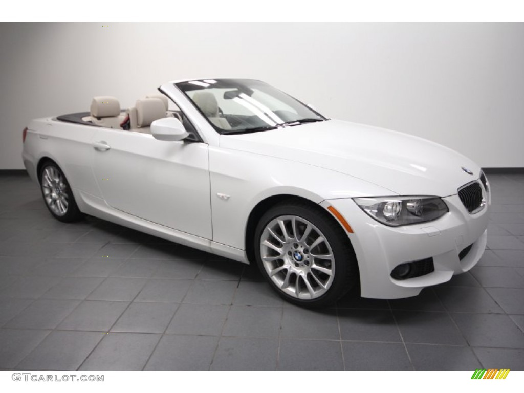 2012 Mineral White Metallic Bmw 3 Series 328i Convertible