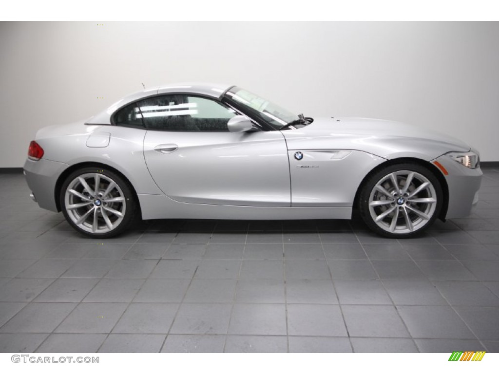 Titanium Silver Metallic 2012 Bmw Z4 Sdrive35i Exterior Photo 61166366 Gtcarlot Com