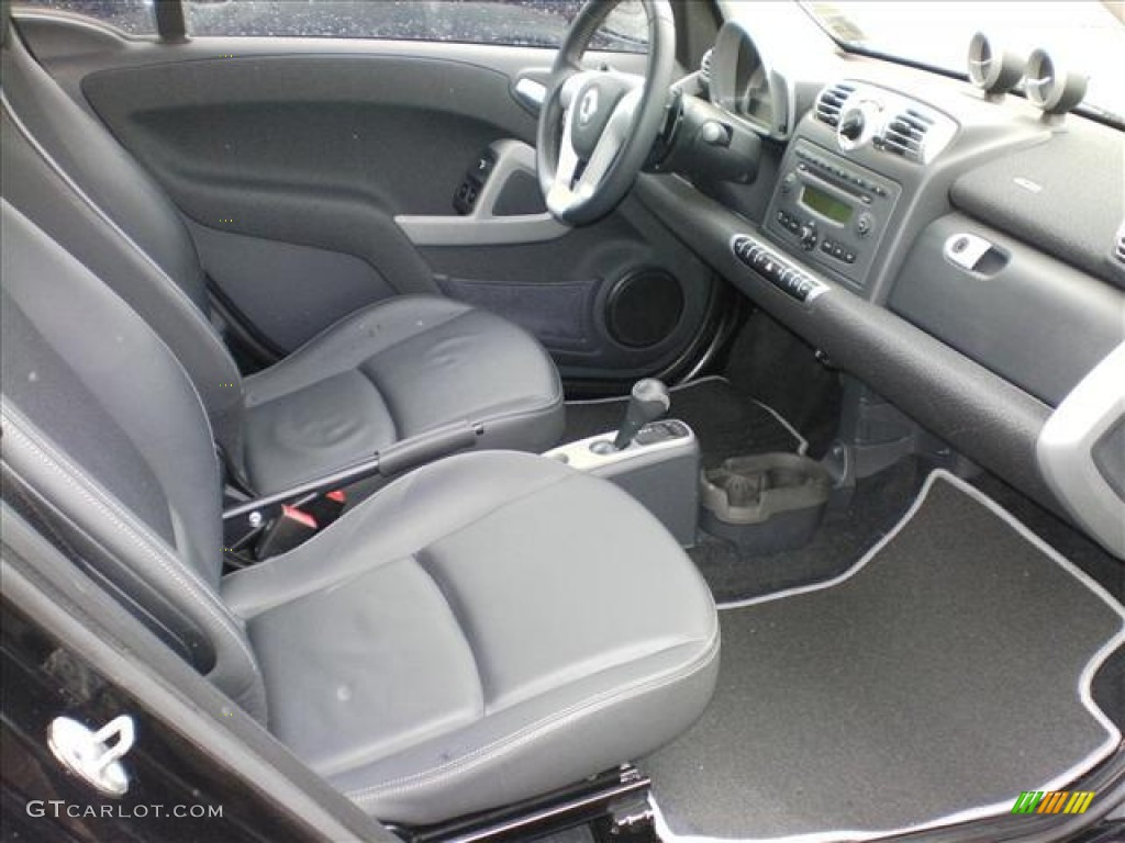 2009 smart fortwo pure coupe interior photos. Black Bedroom Furniture Sets. Home Design Ideas