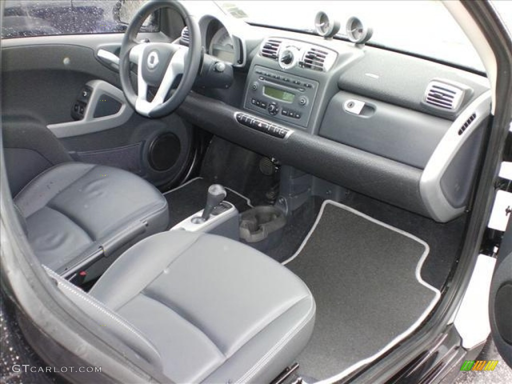 2009 smart fortwo pure coupe gray dashboard photo 61171715. Black Bedroom Furniture Sets. Home Design Ideas