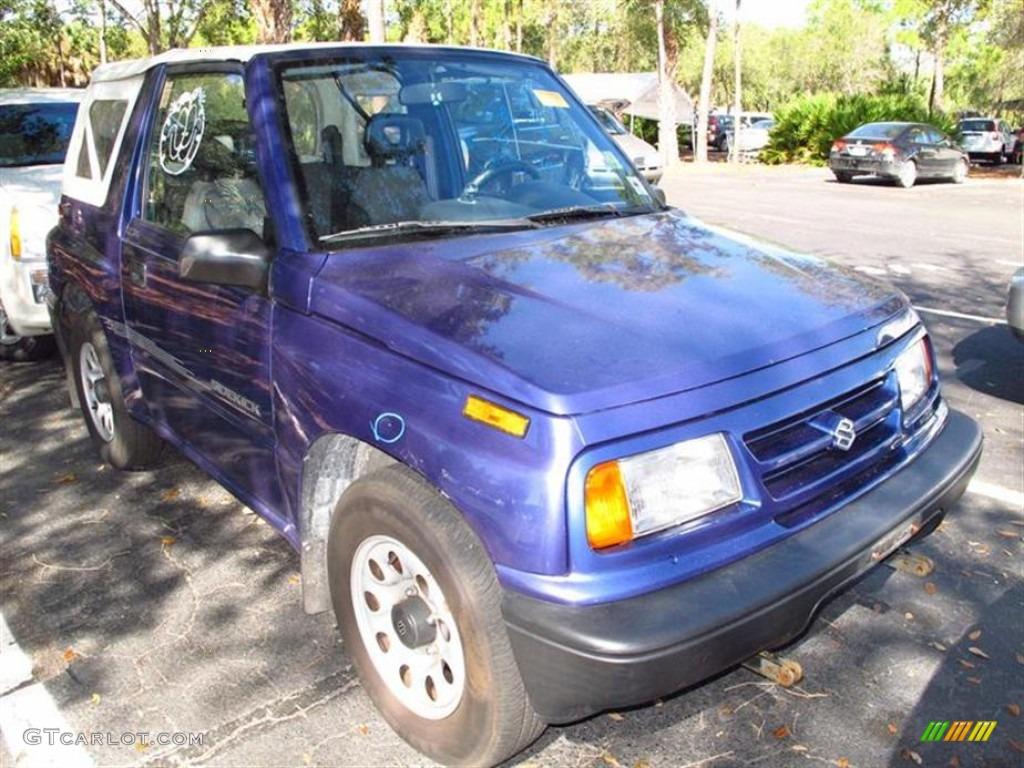 a60d8a7f0188 1997 Medium Blue Metallic Suzuki Sidekick JS 2 Door  61166999 ...