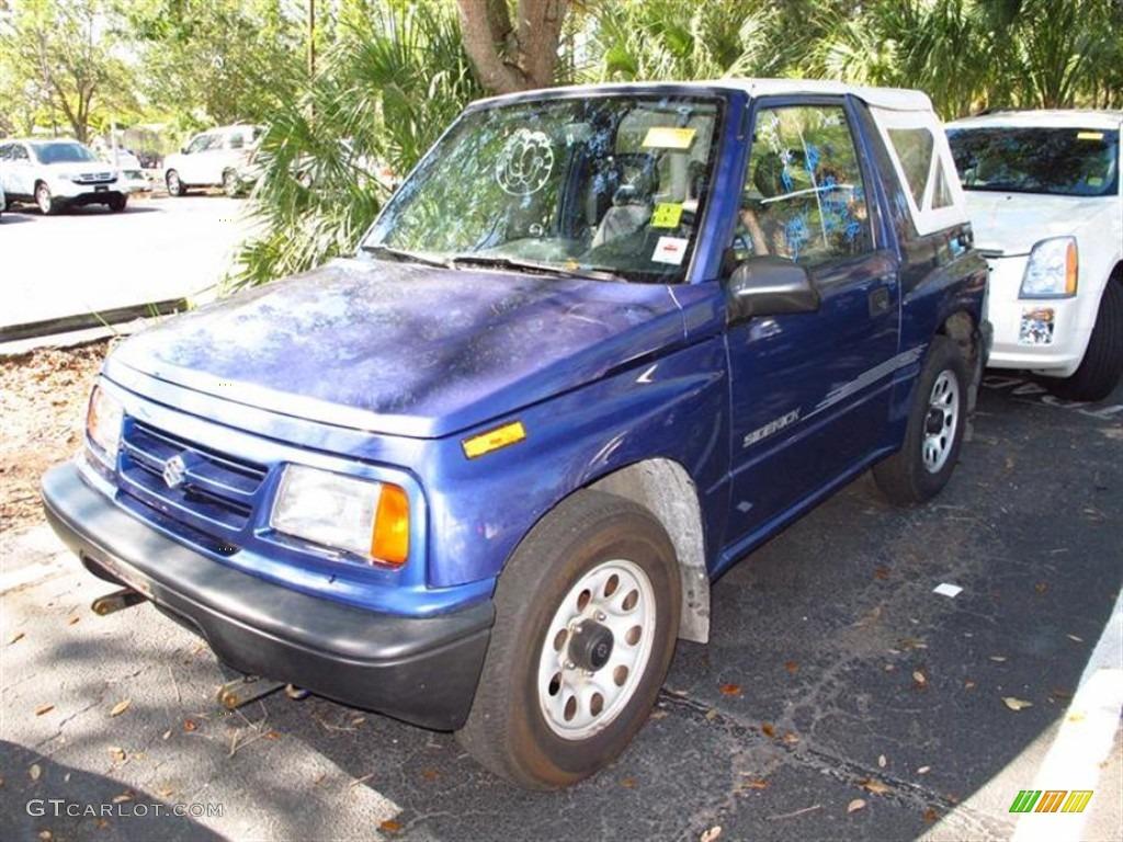2b401abbeb16 1997 Medium Blue Metallic Suzuki Sidekick JS 2 Door  61166999 Photo ...
