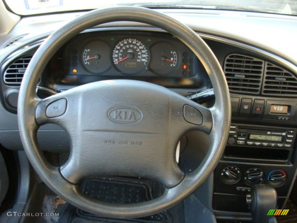 2003 kia spectra sedan grey steering wheel photo 61172263. Black Bedroom Furniture Sets. Home Design Ideas