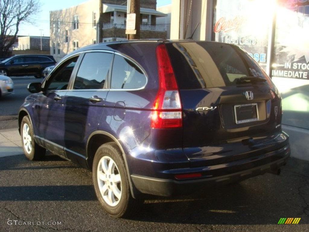 2011 CR-V SE 4WD - Royal Blue Pearl / Gray photo #4