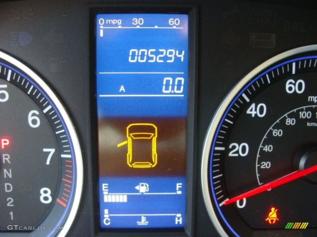 2011 CR-V SE 4WD - Royal Blue Pearl / Gray photo #11