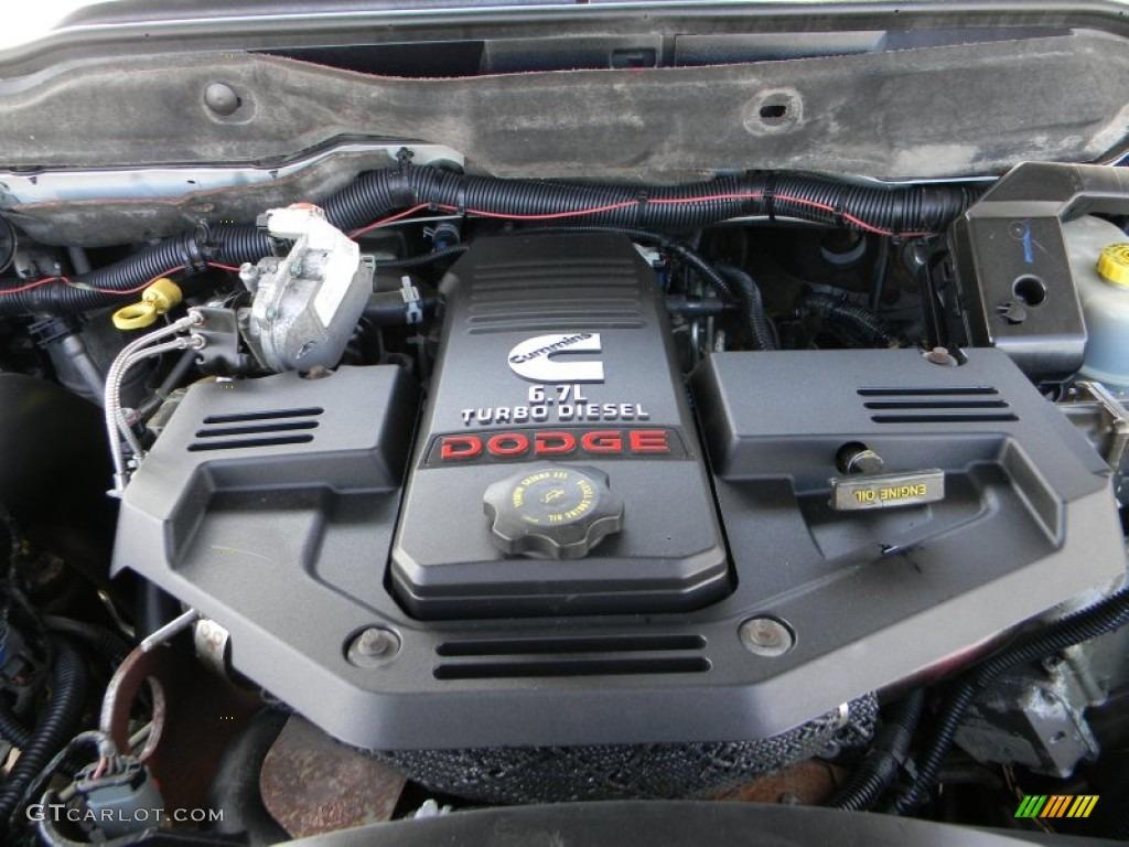 2007 Dodge Ram 3500 SLT Quad Cab 4x4 Utility Truck 6.7 Liter OHV 24-Valve Turbo Diesel Inline 6 Cylinder Engine Photo #61175470