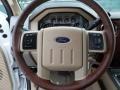 2012 White Platinum Metallic Tri-Coat Ford F250 Super Duty King Ranch Crew Cab 4x4  photo #39