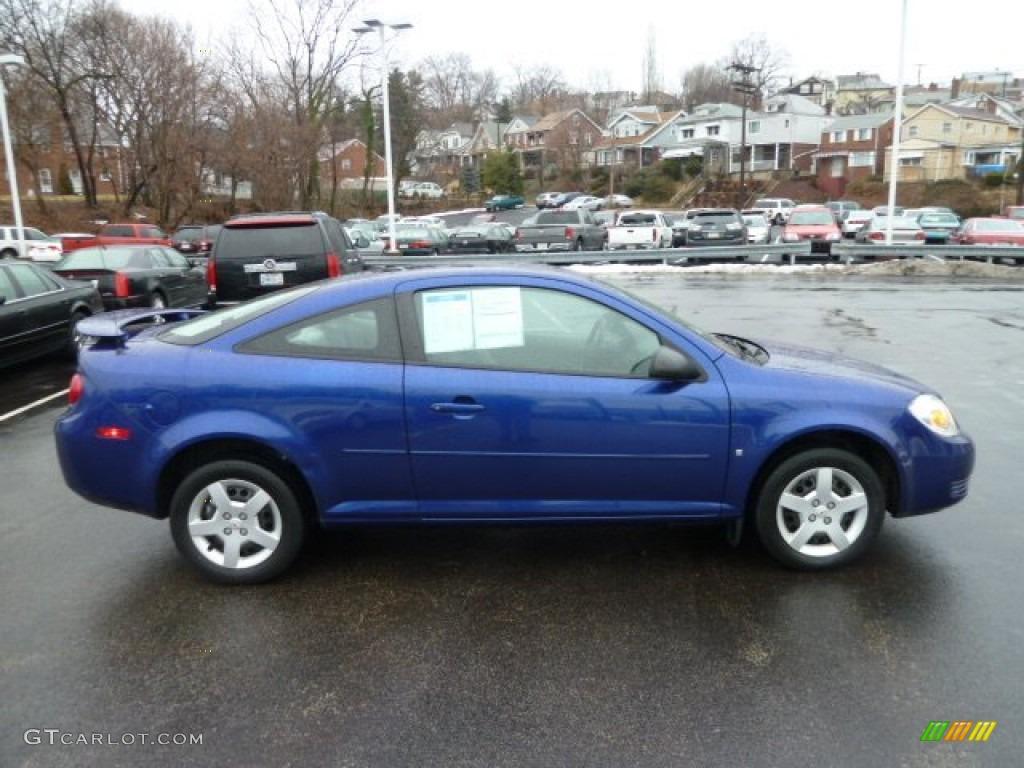 Laser Blue Metallic 2007 Chevrolet Cobalt Ls Coupe Exterior Photo 61185466