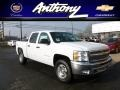 2012 Summit White Chevrolet Silverado 1500 LT Crew Cab 4x4  photo #1