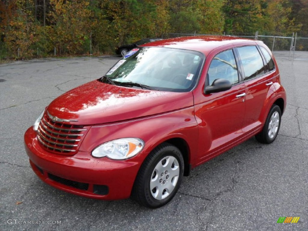 Inferno Red Crystal Pearl 2007 Chrysler Pt Cruiser