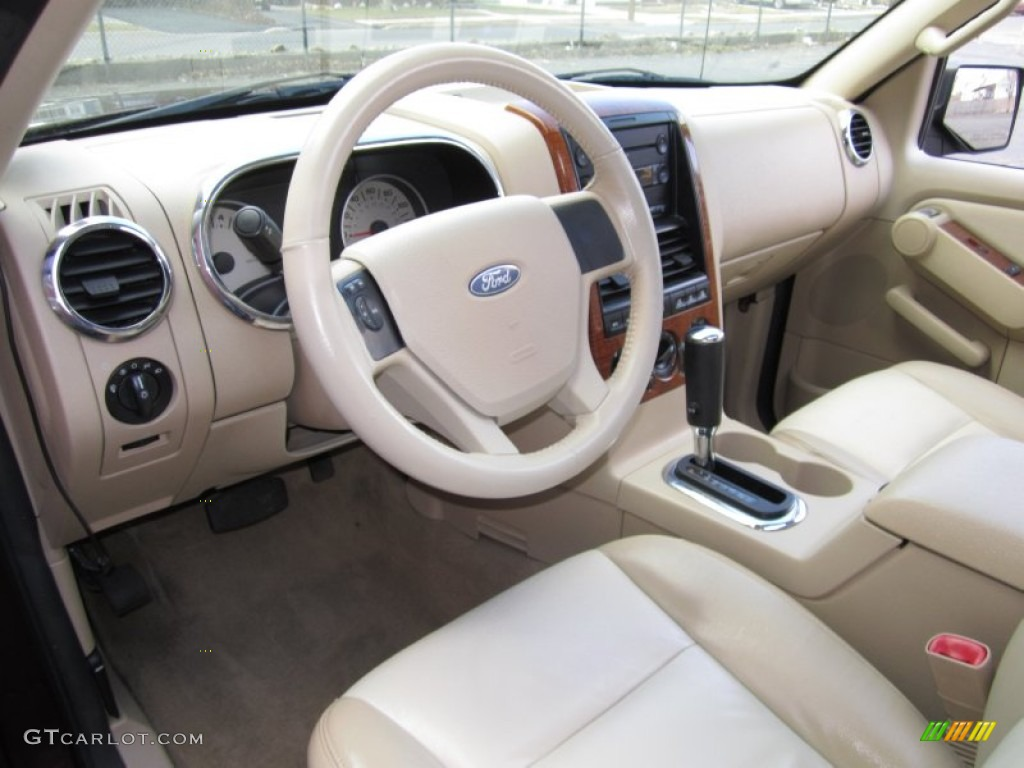 camel stone interior 2006 ford explorer eddie bauer 4x4 photo