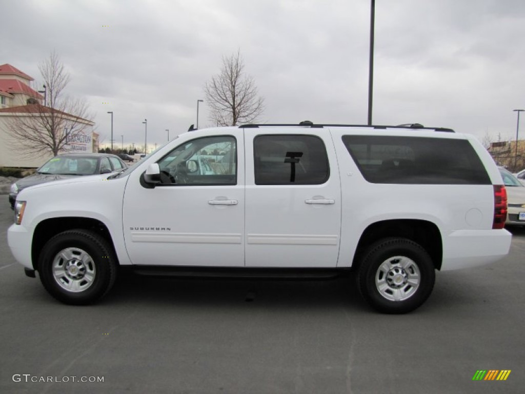 summit white 2011 chevrolet suburban 2500 lt 4x4 exterior. Black Bedroom Furniture Sets. Home Design Ideas