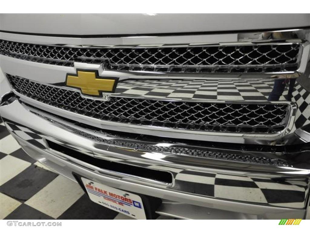2012 Silverado 1500 LT Extended Cab - Silver Ice Metallic / Ebony photo #4