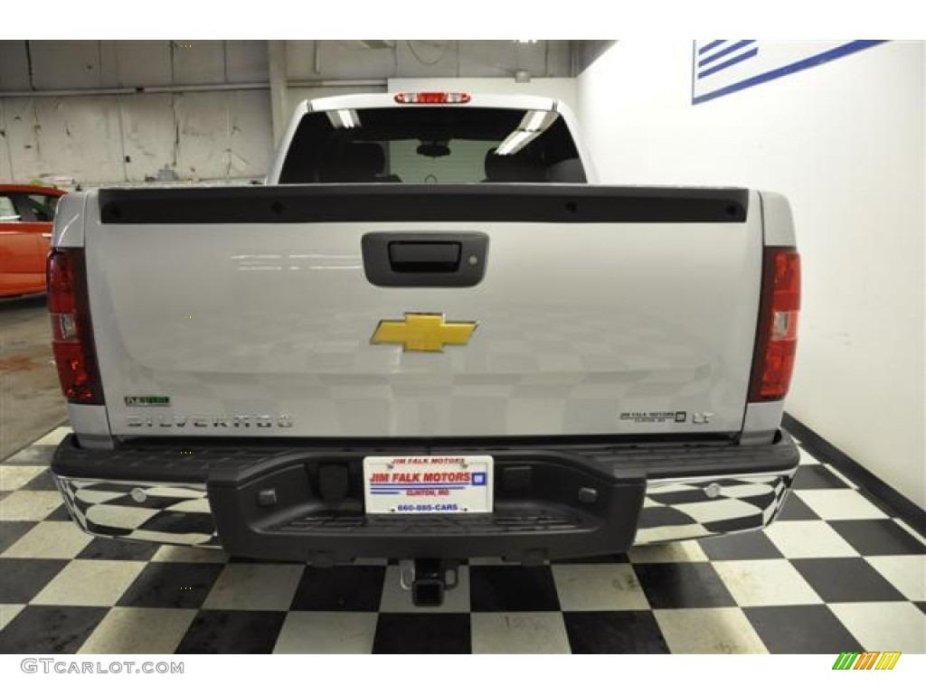 2012 Silverado 1500 LT Extended Cab - Silver Ice Metallic / Ebony photo #6