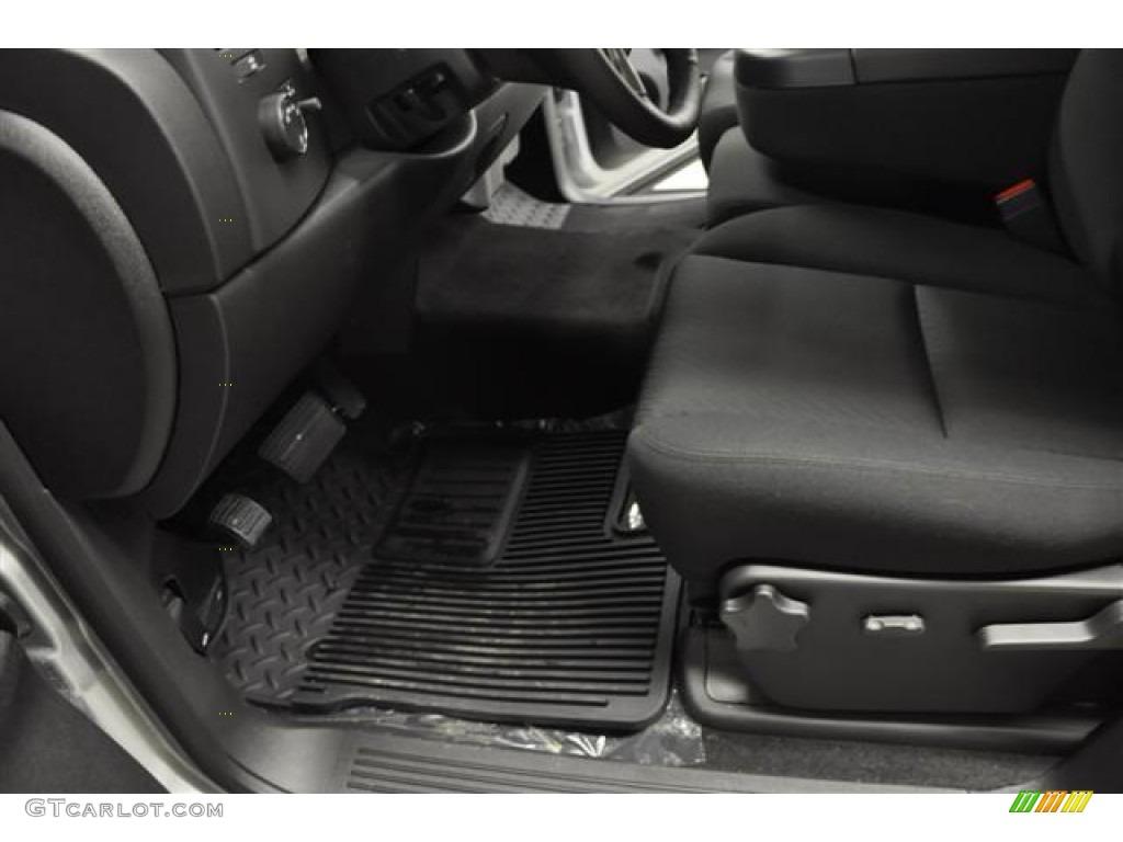 2012 Silverado 1500 LT Extended Cab - Silver Ice Metallic / Ebony photo #19