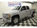 2012 Silver Ice Metallic Chevrolet Silverado 1500 LT Extended Cab  photo #25