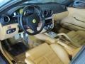 2009 Ferrari 599 GTB Fiorano Beige Interior Prime Interior Photo